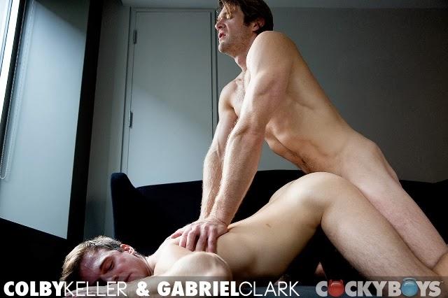 Colby Keller e Gabriel Clark