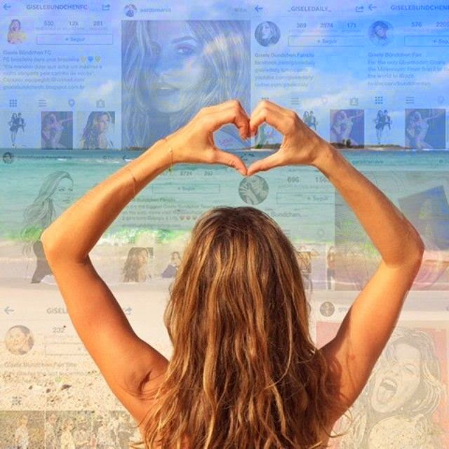 Gisele Bundchen shares a few images into her Instagram account