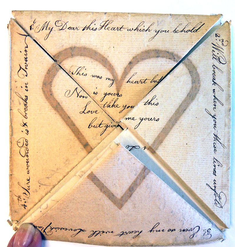 another 18thc love letter puzzle and this one needs solving