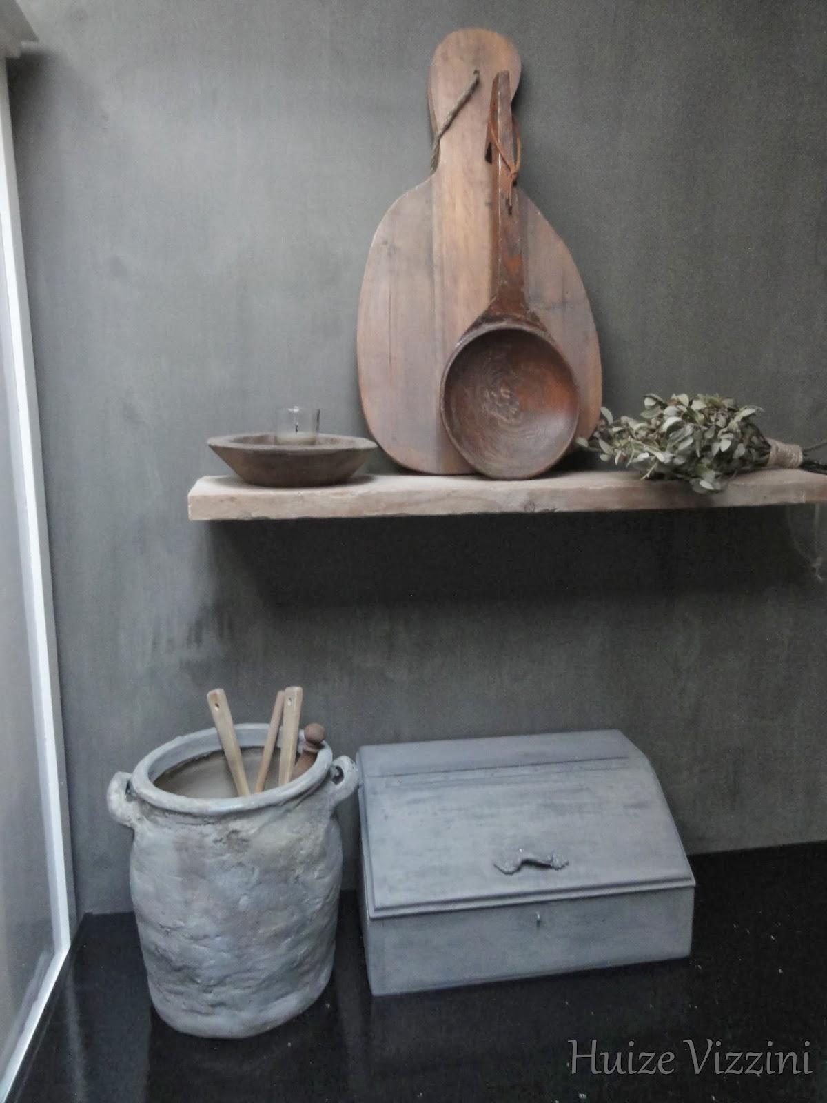 Deco behang berk - Deco oude keuken ...