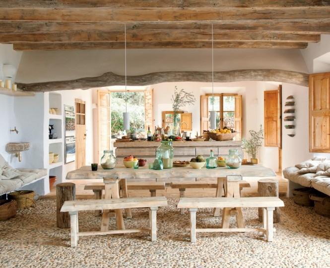 Hogares frescos casa cueva de las zonas costeras por el - Decorar casas de pueblo ...