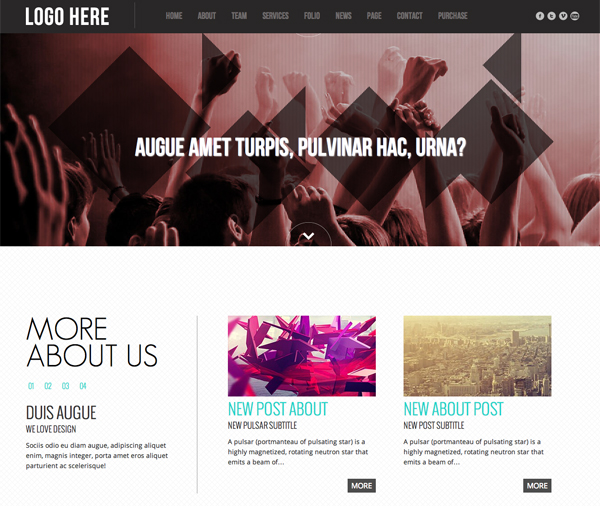 Top 10  Beautiful (Premium) Parallax Scrolling WordPress Themes