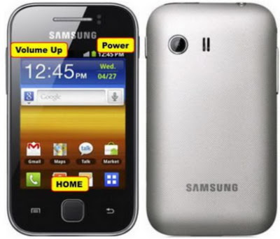 Cara Reset Samsung Galaxy young S5360 Lupa pola kunci
