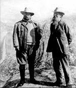 photo of teddy roosevelt and John Muir
