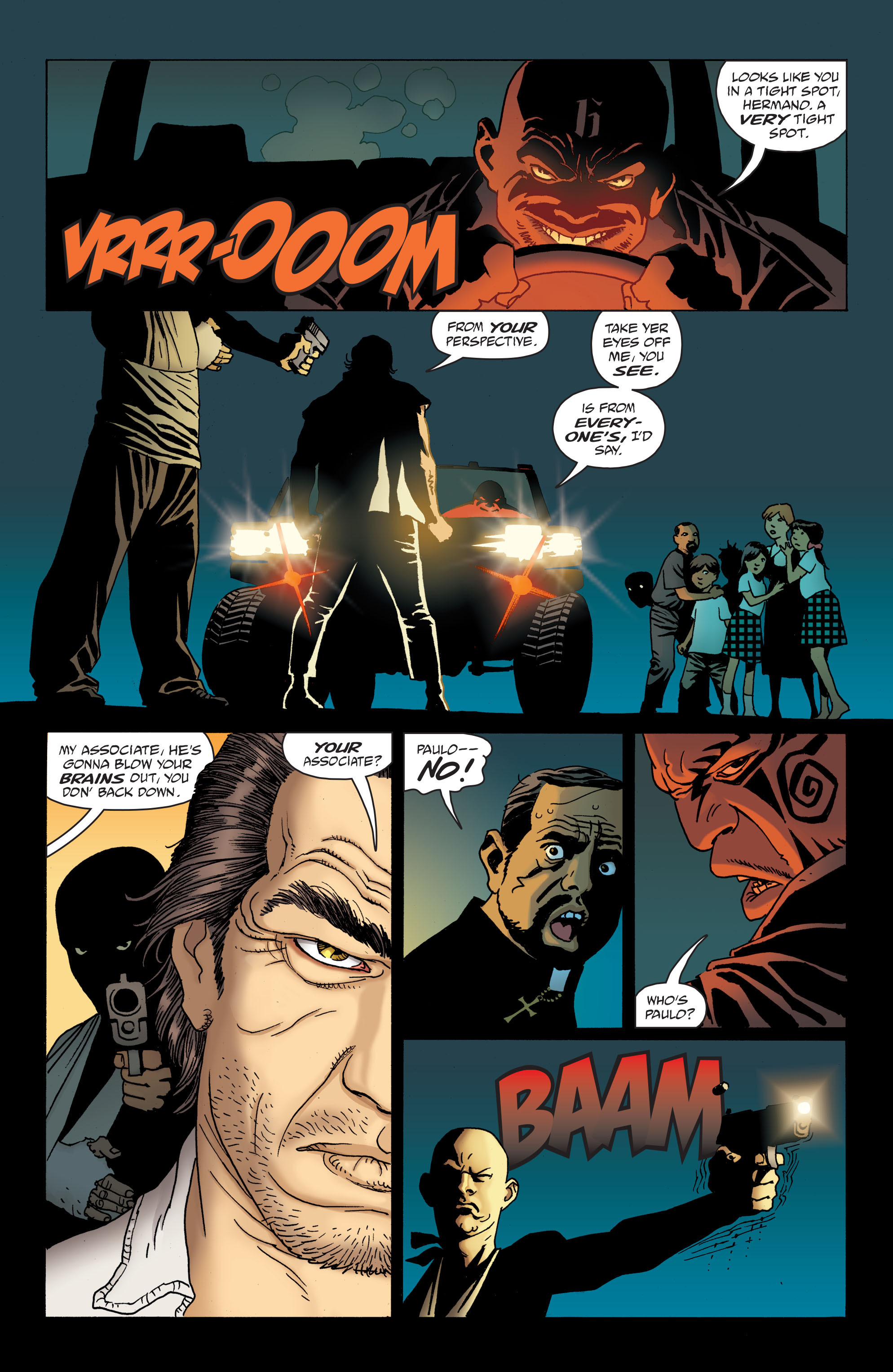 100 Bullets: Brother Lono Full Page 124