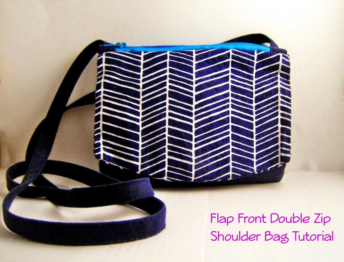 http://mel-allwrappedup.blogspot.com.au/2014/07/flap-front-double-zip-pouch-shoulder.html