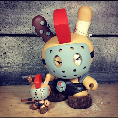 "Dog 8"" Custom Apocalypse Dunny by Huck Gee"