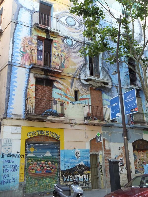 barcelone el raval street art
