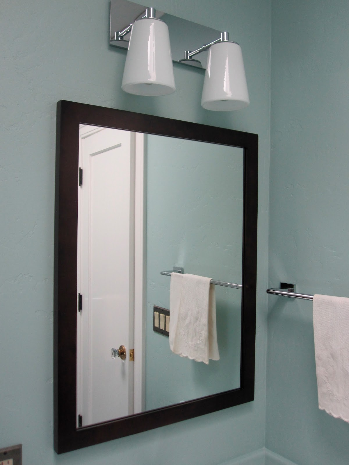 sonoma house renovation mirrors and medicine cabinets