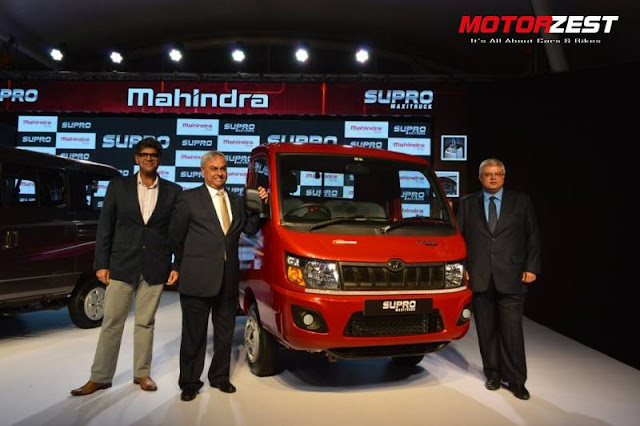 Mahindra Supro Van & Supro Maxitruck, Vivek Nayer, Pravin Shah and Vijay Nakra