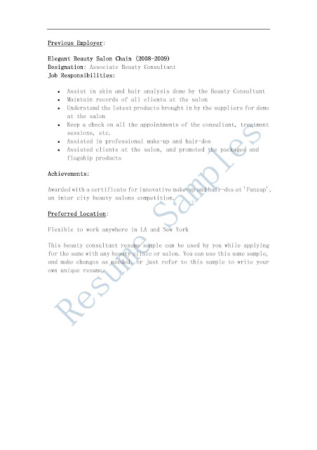 Unforgettable Sales Consultant Resume Examples To Stand Out  Consultant Resume Sample