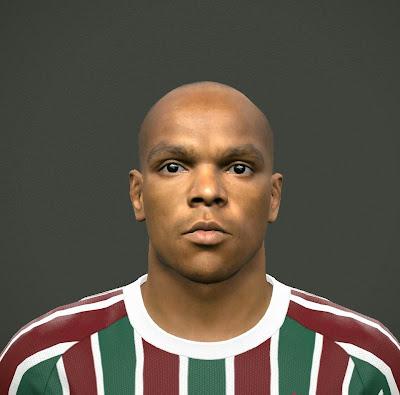 PES 2015 Henrique (Fluminense) Face by saviogoncalves1995