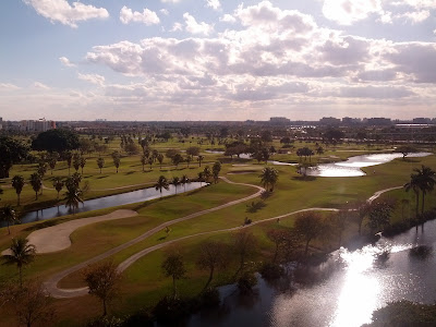 sheraton miami airport golf course view
