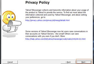 jendela instalasi privacy policy