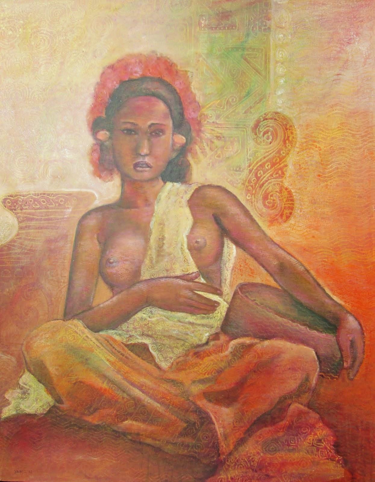 Lukisan Artistic Nude