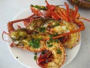 Resep lobster Bakar Bumbu Pedas
