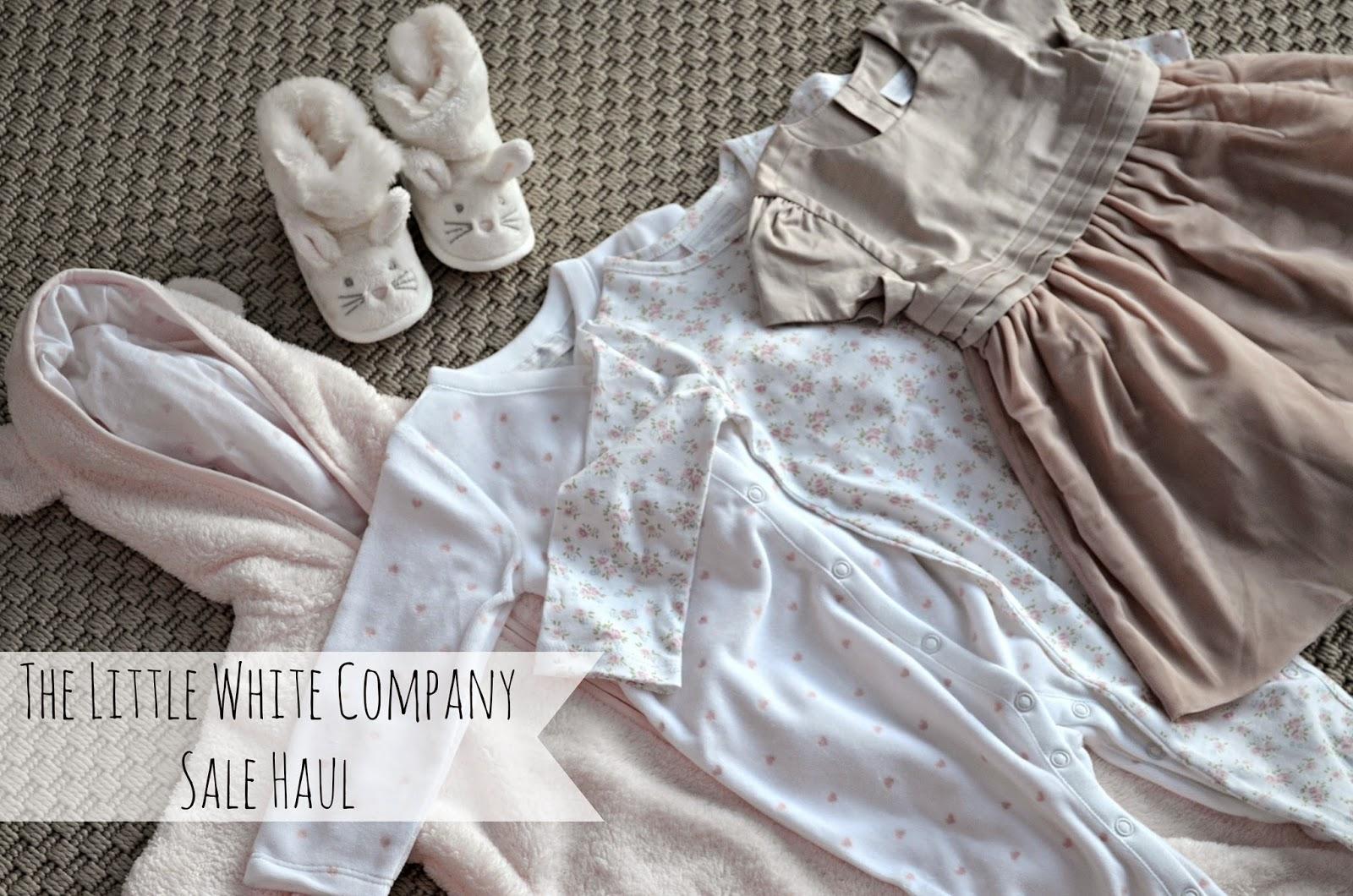 the little white company sale haul