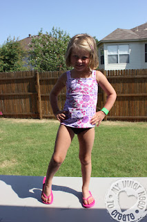 Swimsuit from Simplicity 4203