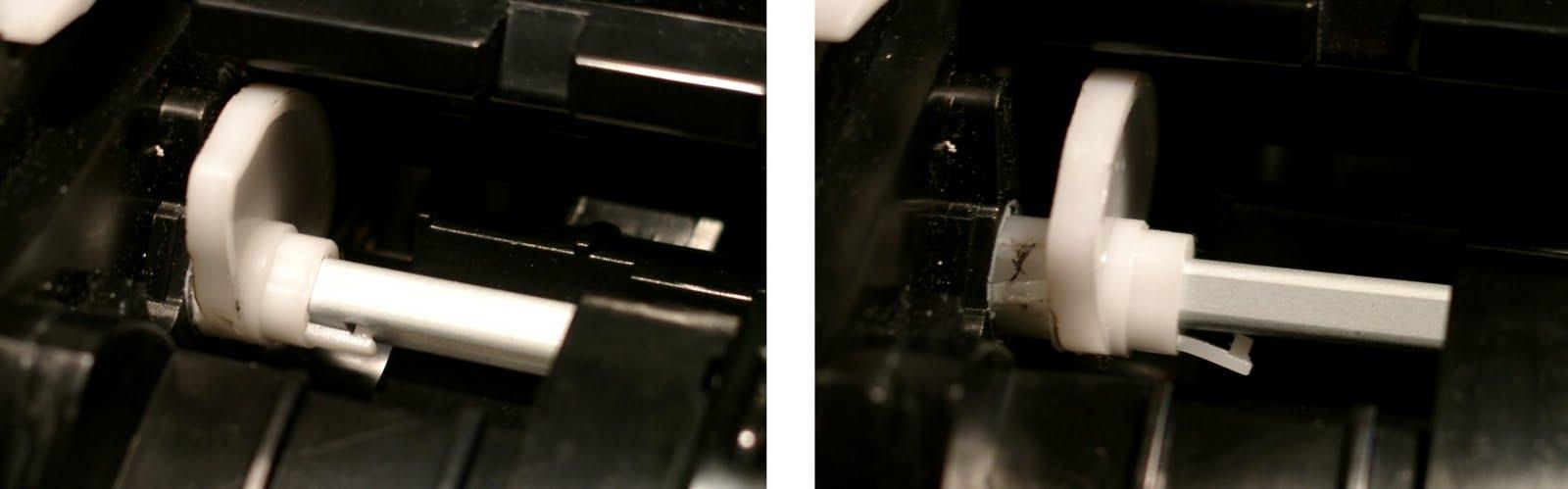 Замятие 2 бумаги в принтере samsung scx-4300