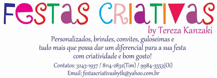 Festas Criativas by Tereza Kanzaki