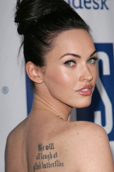 megan fox tattoos marilyn. megan fox tattoos marilyn.