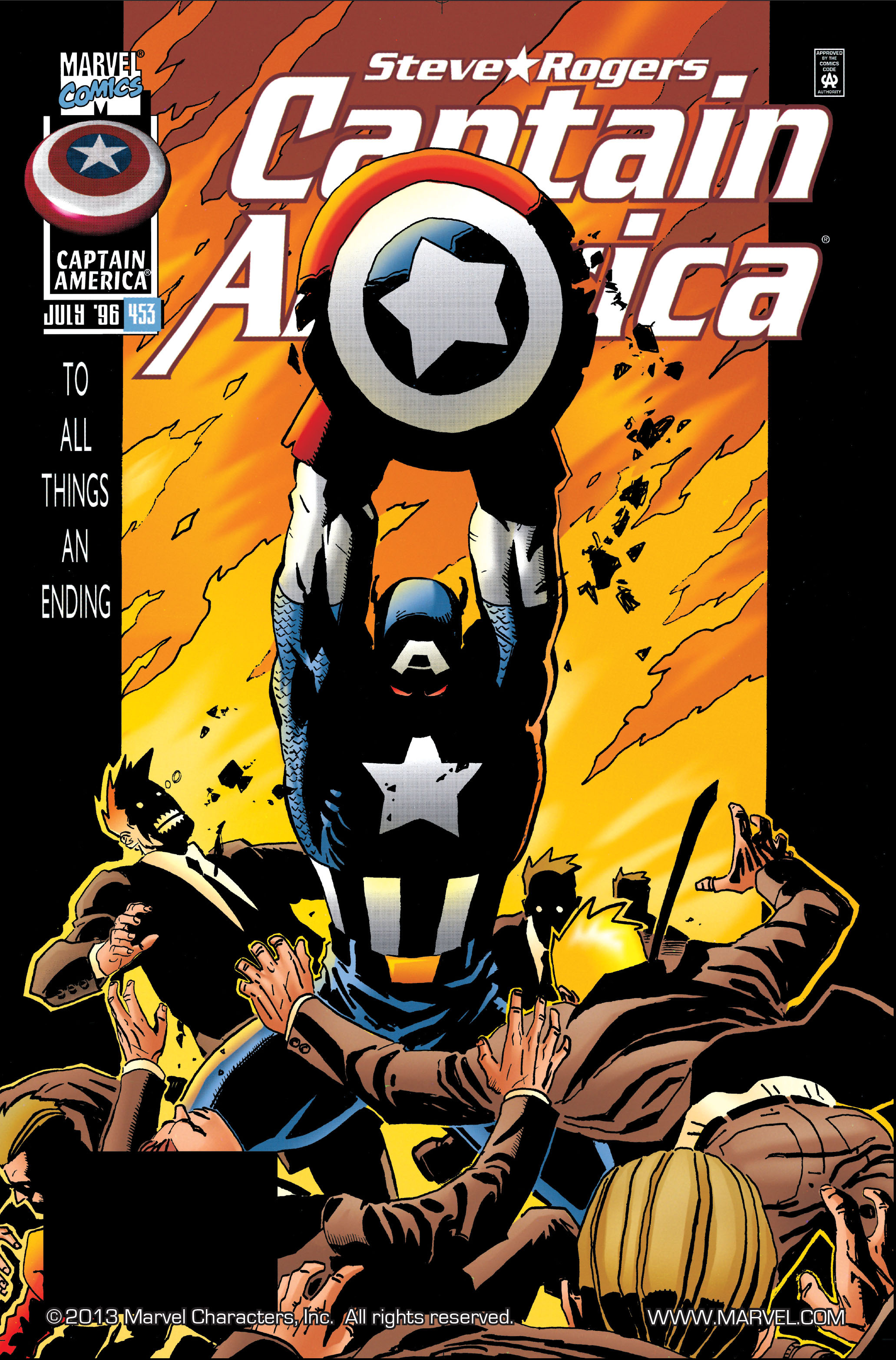 Captain America (1968) Issue #453 #410 - English 1