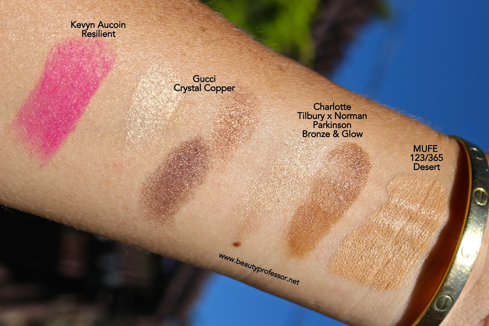 Makeup forever hd foundation swatches