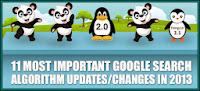 google algorithm updates 2013