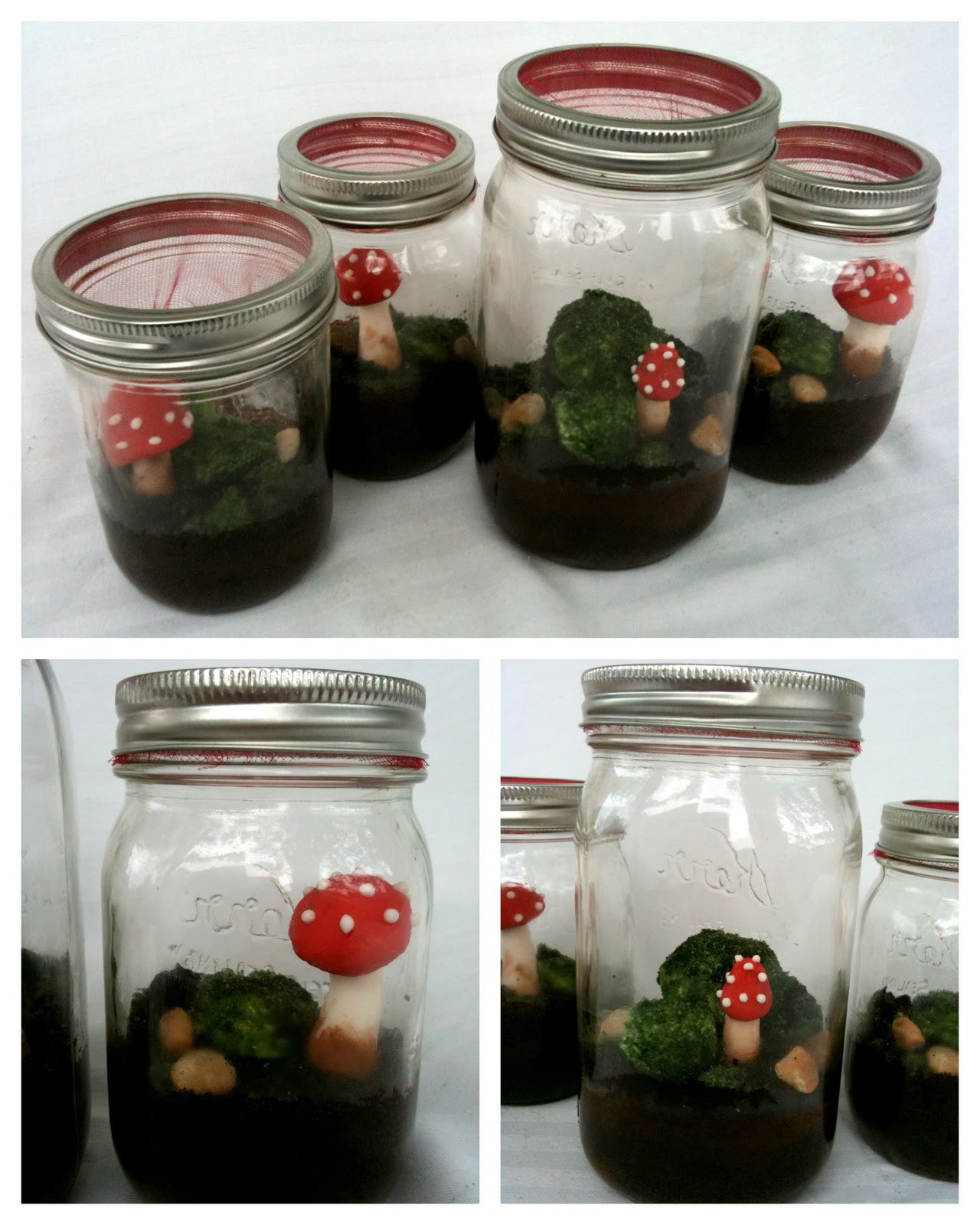 Terrarium Cakes  Whimsical Woodland Scenes In A Jar (that You Can Eat!)