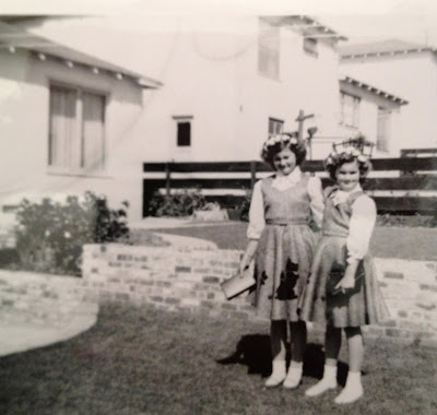 Judy and her sister Carol
