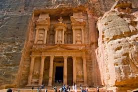 Why is the Petra one of the Jordan's treasuries