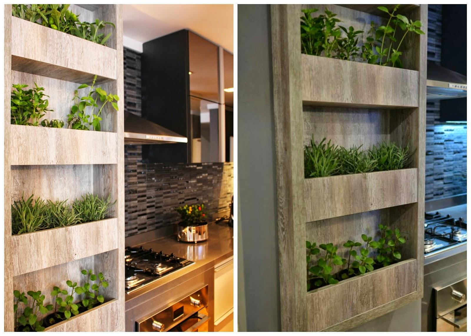 Simplesmente Decor: Inspiração da Semana Horta na Cozinha #495F1A 1600 1143