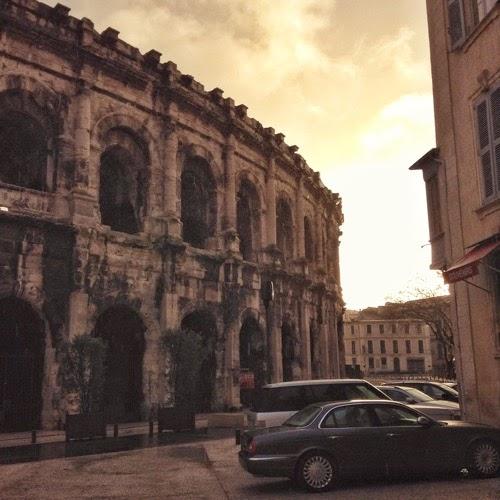 Les Arènes, Nîmes, France