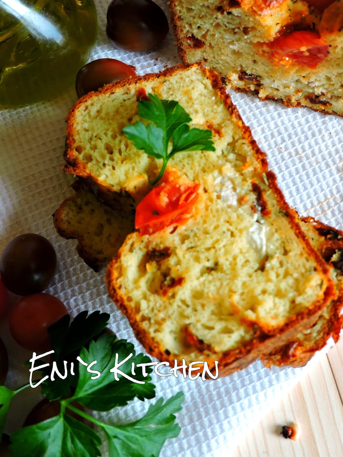 Cake Sal Ef Bf Bd Feta Herbes Aromatiques
