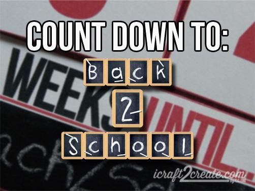 Back to School, Fall, Autumn, Advent calendar, flip calendar, count down calendar