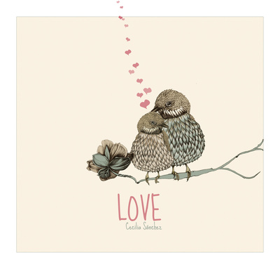 linnut rakkaus juliste