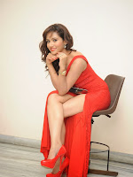 Preethi Rana latest glam pics in red-cover-photo