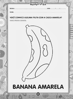 Vamos pintar a banana