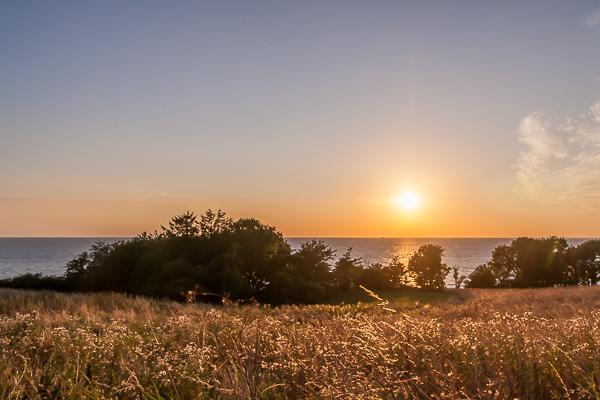 Amalie loves Denmark - Sonnenuntergang auf Bornholm