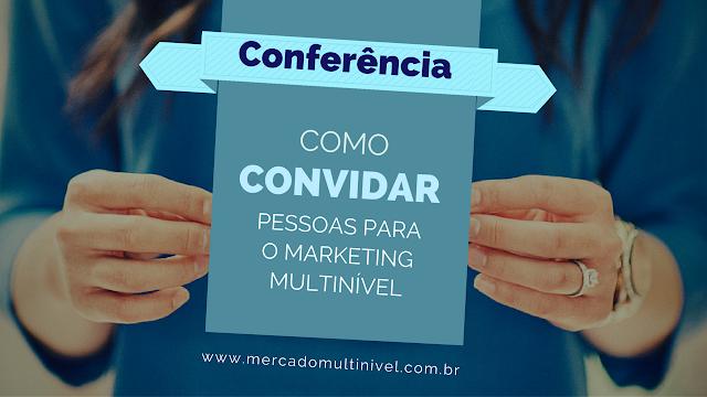 Modelo de convite por email para a conferência online