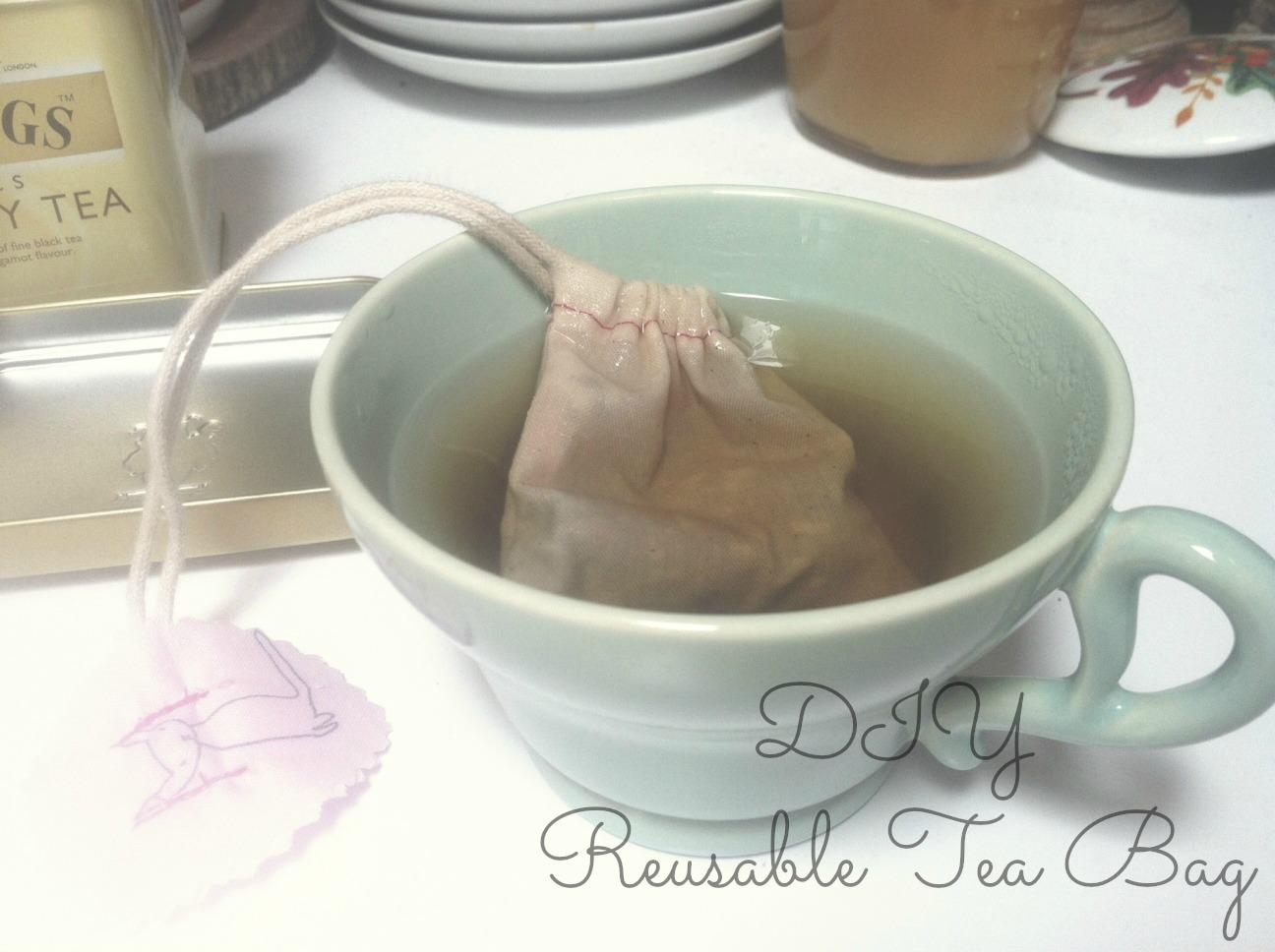 Diy Reusable Tea Bag