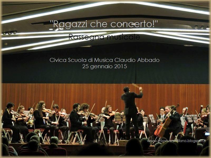 Civica Scuola Ragazzi che concerto