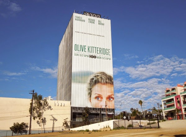 Giant Olive Kitteridge mini-series billboard