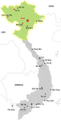 Cities of North Vietnam