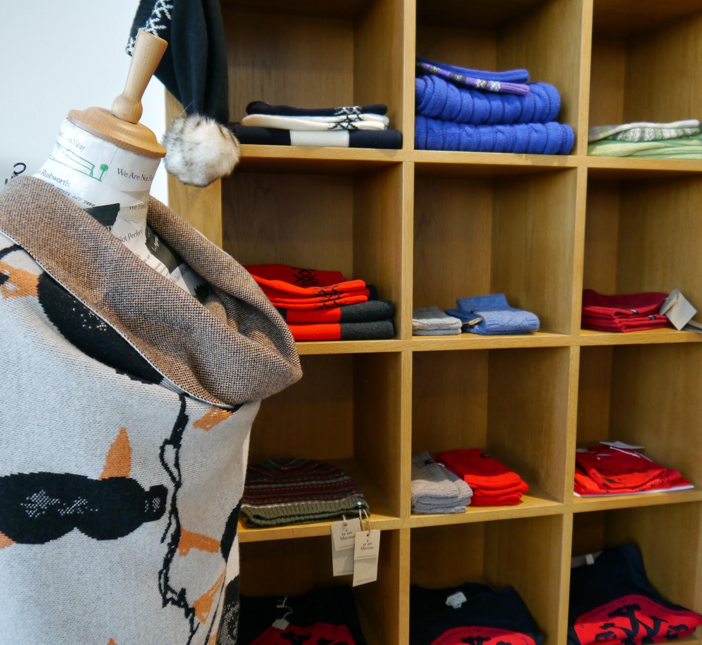Scotland Re:designed, Limited Edition pop up shop, Limited Edition pop up department store, pop up shop, Edinburgh pop up shop, Ocean Terminal, Edinburgh, Edinburgh Bloggers, Scottish Bloggers, Scottish Design, Knitwear, Scottish Knitwear, We are Rushworth