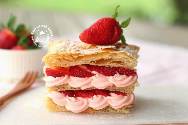 Strawberry Millefeuille Recipes — Dishmaps