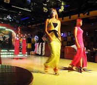 Burmese nightclub models