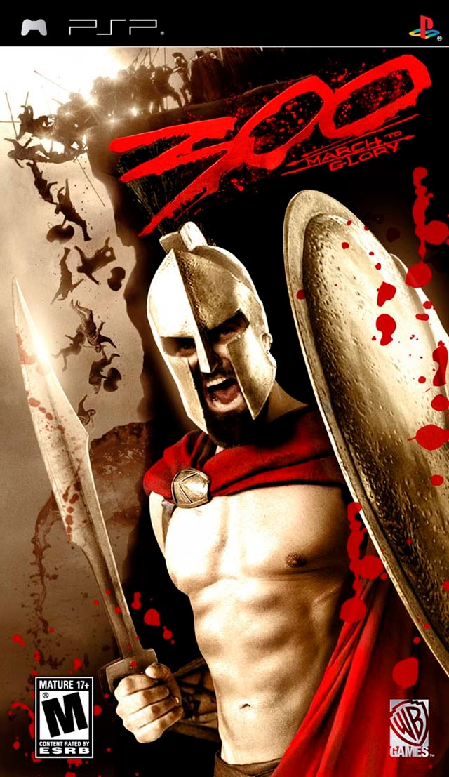 300 March To Glory PSP Action Game Free Download   Best ...