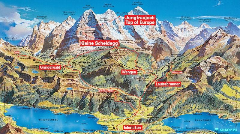 Jungfrau Railway Switzerland The Highest Mountain Railway Station