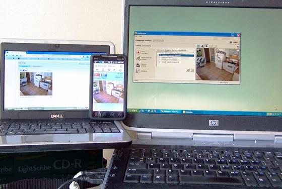 Mobiscope é um aplicativo que permite o acesso remoto às câmeras que você tem conectadas ao seu computador